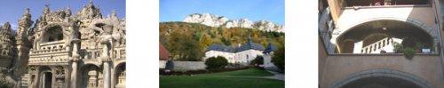 Palais idéal du facteur Cheval, Correrie et Cour XVII° Grenoble