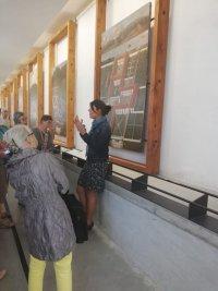 Galerie des Cartes au Musée de la Grande Chartreuse