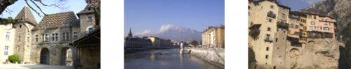 Saint Antoine l'Abbaye, Grenoble et Pont-en-Royans